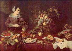 Fruit seller - Frans Snyders