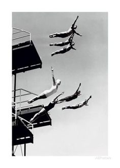 High Dive Posters by The Chelsea Collection - at AllPosters.com.au