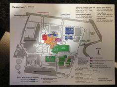 8 Maps Ideas Map Alma College Beaumont Hospital