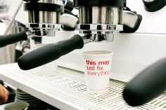Hello, matt black milk jugs               Little pep-talk on the cups...          At first glance this is just a h...