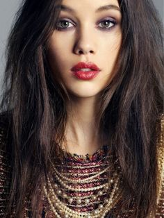 astrid berges-frisbey...gorgeous. (syrena, the mermaid from pirates of the caribbean: on stranger tides)