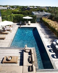 Pool fences are ideal for privacy and protection. But you can still have fun setting up your pool fence. Here are 27 Awesome pool fence ideas ! Swimming Pools Backyard, Swimming Pool Designs, Pool Landscaping, Lap Pools, Lap Swimming, Living Pool, Outdoor Living, Langer Pool, Ocean Front Homes