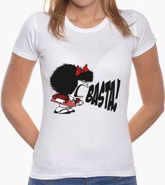Camiseta Mafalda BASTA!