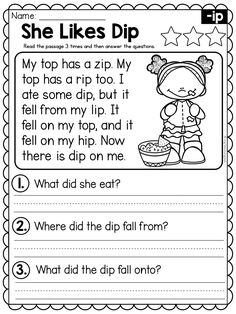 Reading Comprehension For Kids, Reading Passages, Reading Skills, English Activities, Daily Activities, Writing Activities, Phonics Worksheets, Reading Worksheets, English Prepositions