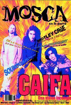 El quinto número de La Mosca en la Pared, aparecido en julio del 94, con el letrero inconcluso de los Caifa...