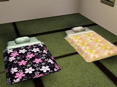 Emma's Simposium Sims 3 Cemetery: RIP 000097 - Japanese Futon Single by Sugichaco - Donated/Gifted!!!