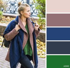 15 perfect color combinations for your winter wardrobe