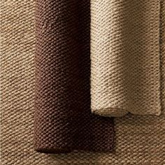 The Bouclé Jute Rug is a handloom woven of sustainably harvested 3 ply, hand-braided jute yarns. The rug brings a natural element to any room. The Company Store Natural Fiber Rugs, Natural Rug, Sisal Carpet, 4x6 Rugs, The Company Store, Jute Rug, Bedroom Carpet, Round Rugs, Carpet Runner