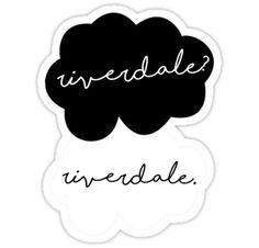 """Riverdale? Riverdale."" Stickers by Brenda Lee | Redbubble"