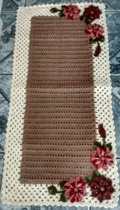 Quick And Easy Crochet Blanket Patterns For Beginners: Chevron Baby Blanket With Straight Edge. Crochet Flower Patterns, Afghan Crochet Patterns, Knitting Patterns Free, Crochet Flowers, Crochet Afghan Stitch, Crochet Stitches, Crochet Ripple, Ravelry Crochet, Rainbow Crochet