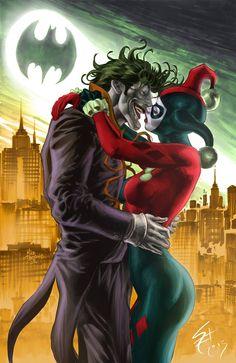 Joker. Colors byLunyo Alves de Souza