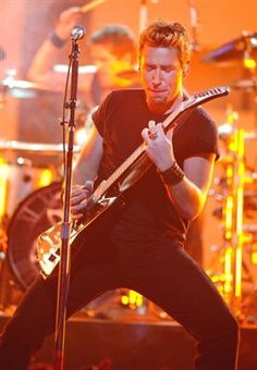 Chad Kroeger of Nickelback performs as the Juno Awards for Canadian music take place Sunday in Ottawa at Scotiabank Place.  Photograph by: Wayne Cuddington, Ottawa Citizen