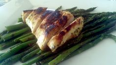 Orange Chicken and Asparagus by Stef Sull, via Flickr