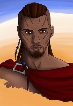 My Elder Scrolls Online Redguard warrior. Warrior of Hammerfell Manticore, Elder Scrolls Online, Skyrim, Disney Characters, Fictional Characters, Deviantart, Disney Princess, Artwork, Work Of Art