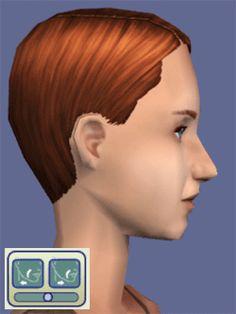 Ensemble de coiffures pour hommes pour sims 2