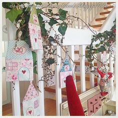 weihnachtskalender ith 13x18 diy stricken h keln pinterest adventskalender navidad. Black Bedroom Furniture Sets. Home Design Ideas
