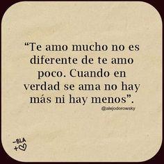 Ni Menos Ni Más: Amor Consciente. Alejandro Jodorowsky