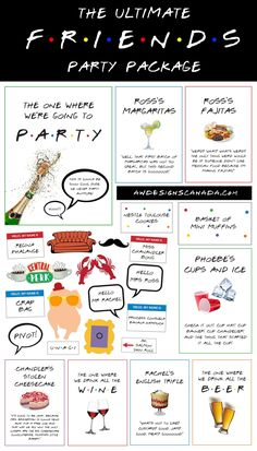 The ULTIMATE Friends Bridal Shower & Bachelorette Party Printable Package, Friends TV Party Printable Pack, Friends Party Bundle, - Welcome to our website, We hope you are satisfied with the content we offer. Friends Tv Show, Tv: Friends, Friends Trivia, Friends Cake, Lego Friends, 30th Birthday Ideas For Women, Women Birthday, Photos Booth, Bridal Shower Photos