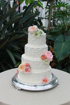 Rustic Buttercream Cake by Whipped Bakeshop, via Flickr
