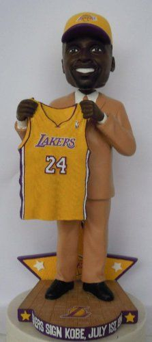 d3e3ddff605 Kobe Bryant Los Angeles Lakers 1996 NBA Draft Day-Trade Exclusive Bobble  Head