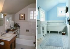 before and after of the cape cod bath