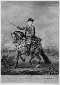 COMPASS Title: John Faber, William Augustus, Duke of Cumberland, mezzotint after…