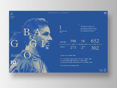 Football Legends _ Baggio