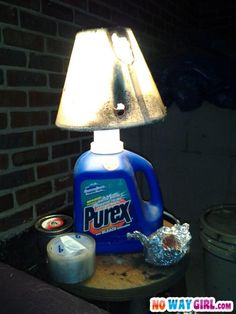 Most Ghetto Lamp Ever