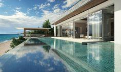 5. Mais exótica: o Vietnã cada vez mais vem recebendo ocidentais interessados em passeios turísticos por essas bandas poucos desbravadas. Os incentivos do governo à aquisição de propriedades por parte de estrangeiros e empréstimos tornam o lugar um bom destino para quem quer investir. A Savills está vendendo mansões com casas de banho com piscinas de borda infinita à beira do mar no Resort Nha Trang, na província de Khanh Hoa, de R$ 4,56 milhões Divulgação