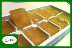 23 Genius Ways To Use An Ice Cube Tray – My Mother's Daughter – Homemade baby foods Freezing Baby Food, Freezing Apples, Homemade Baby Foods, Homemade Cookies, Baby Food Recipes, Cooking Recipes, Pasta Al Pesto, Ice Cube Trays, Ice Cubes