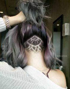 La tendance du hair tattoo