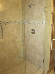 Tile Shower By Cypress Homes