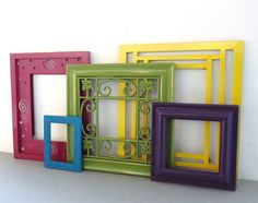 Ornate Frame Collection Set of 5 Gallery by ShabbyAvenueBoutique, $36.00