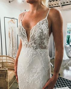 Dripping in beads ✨ Jeannelle l'Amour Bridal Lace Wedding, Wedding Dresses, Bridal, Beads, Instagram, Fashion, Bride Dresses, Beading, Moda