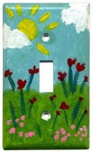 cute idea for elementary art project...sell & give as gifts