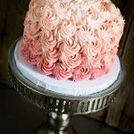 Ombre cake Egg Free Cakes, Ombre Cake, Cupcakes, Candy, Desserts, Beautiful, Food, Tailgate Desserts, Cupcake Cakes
