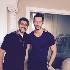 """David Gandy at the dentist today in London (04/09/2015)"""