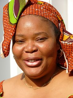 Leyma Gbowee of Liberia, one of the three women sharing the 2011 Nobel Prize for Peace.  Photo by Sclafani on Flickr.