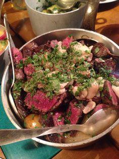 Melee restaurant was really good. Try it. #onglet #melee #foodporn #wealsohadwine