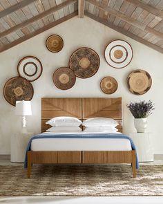 Linen Sheets, Home Rugs, Baskets On Wall, Natural Rug, Geometric Designs, Sheet Sets, Chic, Master Bedroom, Zen Master