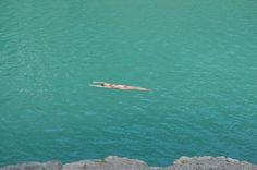 mountain's lake, peace, summer