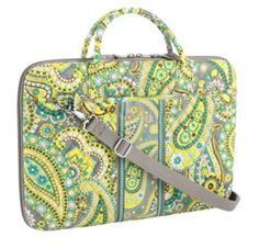 82 Vera Laptop Portfolio in Lemon Parfait - LOVE!  lt 3 Cute Laptop Cases f68b924a63