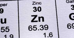 Le zinc dans l'alimentation