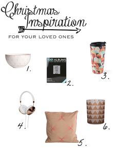 Anna Peony: LIFESTYLE >> Christmas Gift Inspiration