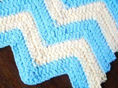 Fluffy Striped Baby Blanket