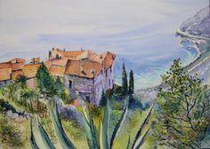 Michel GUYOT Èze village (Èze-sur-Mer)   Alpes-Maritimes Région Provence-Alpes-Côte d'Azur