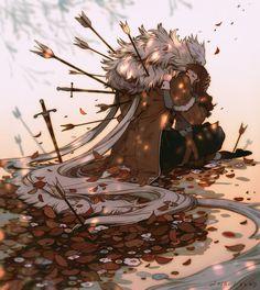 旳--- - logs Fantasy Character Design, Character Design Inspiration, Character Art, Manga Art, Anime Art, Anime Warrior, Fantasy Inspiration, Fantasy Artwork, Creature Design