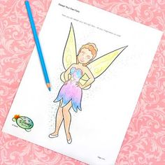 Design Your Own Fairy | Printables | Spoonful