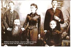 Laura's Olsen family from her book on the banks for plum creek..... check out artical