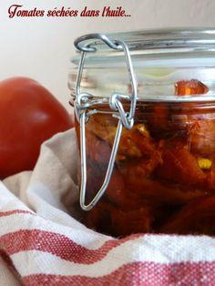 Tomates séchées dans l'huile